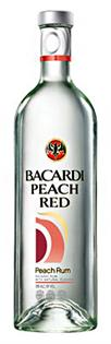 Bacardi Rum Peach Red 1.00l